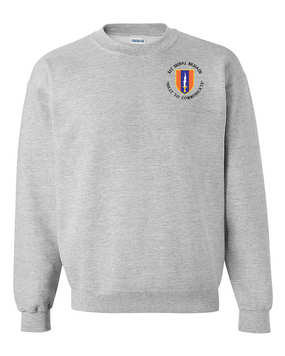 1st Signal Brigade Embroidered Sweatshirt  (C)