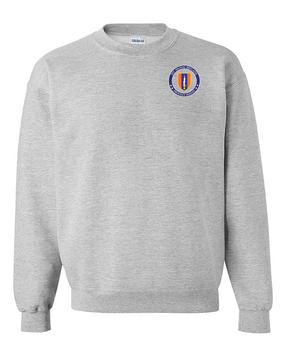 1st Signal Brigade Embroidered Sweatshirt -Proud
