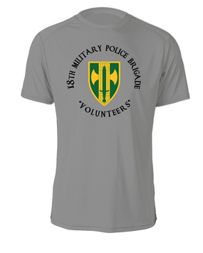 18th Military Police Brigade Cotton Shirt -(C)(FF)