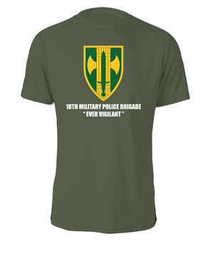 18th Military Police Brigade Cotton Shirt (FF)