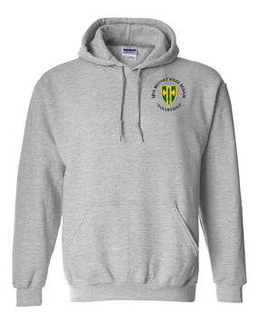 18th Military Police Brigade Embroidered Hooded Sweatshirt (C)