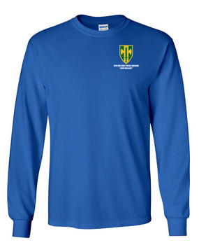 18th Military Police Brigade Long-Sleeve Cotton T-Shirt