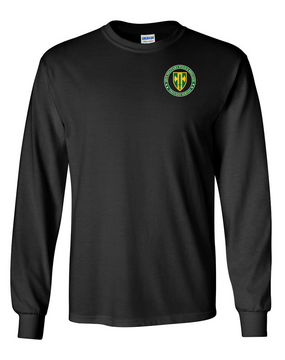 18th Military Police Brigade Long-Sleeve Cotton T-Shirt -Proud