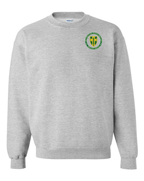 18th Military Police Brigade Embroidered Sweatshirt  -Proud