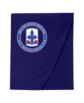 29th Infantry Brigade Embroidered Dryblend Stadium Blanket -Proud