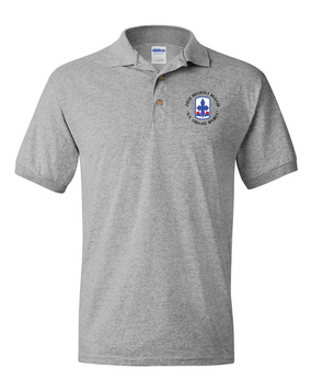 29th Infantry Brigade Embroidered Cotton Polo Shirt  (C)