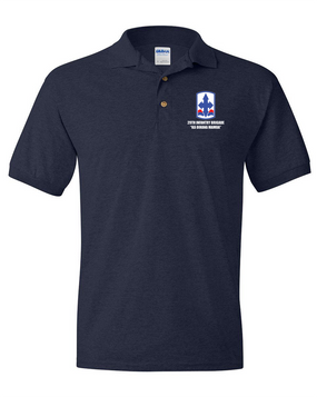 29th Infantry Brigade Embroidered Cotton Polo Shirt