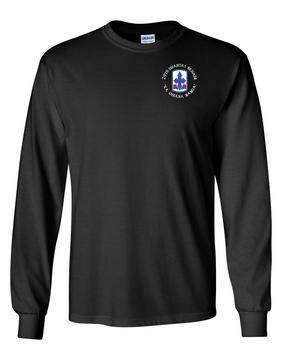29th Infantry Brigade Long-Sleeve Cotton T-Shirt (C)