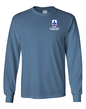 29th Infantry Brigade Long-Sleeve Cotton T-Shirt
