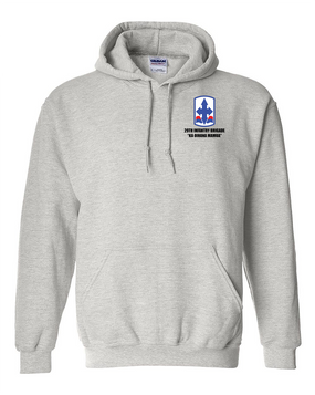 29th Infantry Brigade Embroidered Hooded Sweatshirt