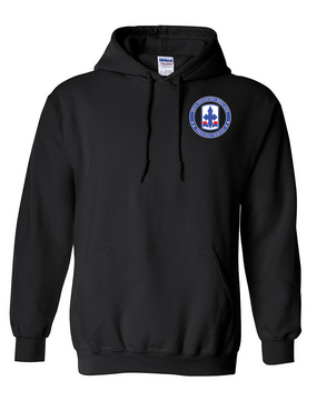 29th Infantry Brigade Embroidered Hooded Sweatshirt -Proud