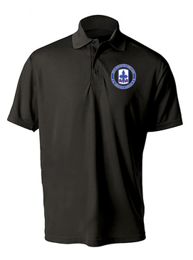29th Infantry Brigade Embroidered Moisture Wick Polo Shirt -Proud