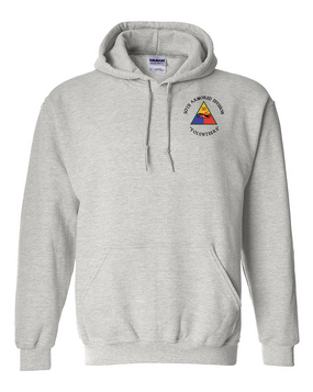30th Armored Division Embroidered Hooded Sweatshirt (C)