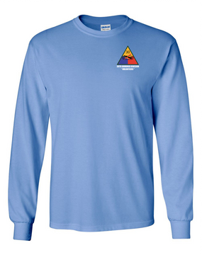 30th Armored Division Long-Sleeve Cotton T-Shirt