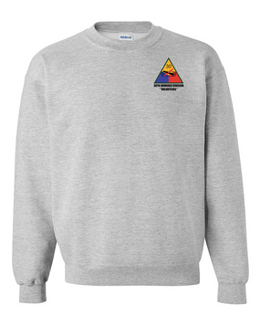 30th Armored Division Embroidered Sweatshirt