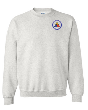 30th Armored Division Embroidered Sweatshirt -Proud