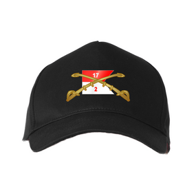 2/17th Cavalry Regiment Embroidered Baseball Cap