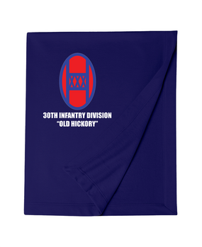 30th Infantry Division Embroidered Dryblend Stadium Blanket