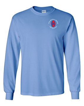 30th Infantry Division Long-Sleeve Cotton T-Shirt (C)