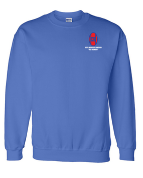 30th Infantry Division Embroidered Sweatshirt