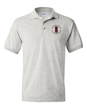 32nd Infantry Brigade Embroidered Cotton Polo Shirt  (C)