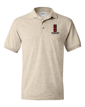 32nd Infantry Brigade Embroidered Cotton Polo Shirt