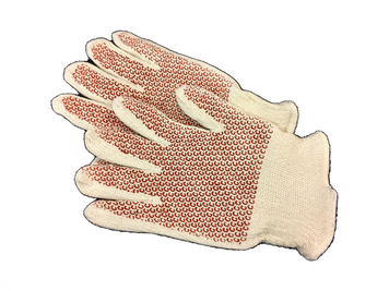 Heat Resistant Gloves, Cotton/Acrylic, 400°F Max. Temp., Men's XL, One Pair