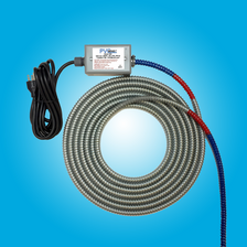"20 Ft PVC Pipe Heater-Bending Tool for bending up to 20' lengths of 1/2"" diameter to 8"" diameter Schedule 40/80 PVC Pipe"