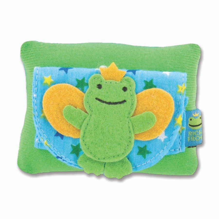 tooth fairy pillow frog