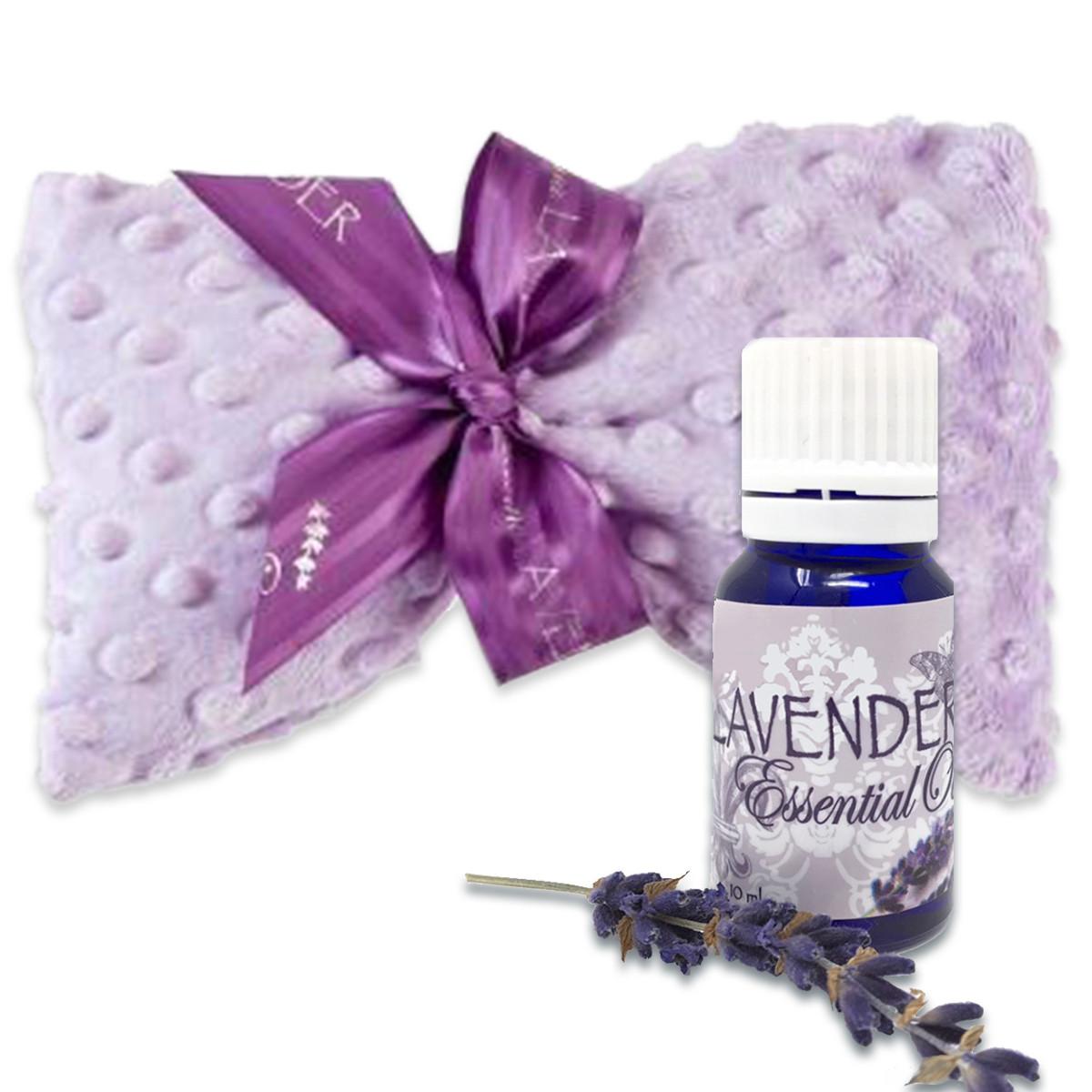 Lavender spa mask, lavender essential oil