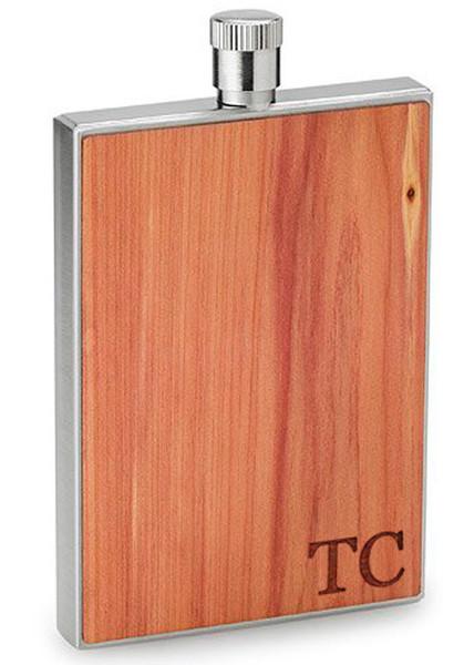 Personalized flask - Cedar