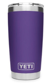 Yeti 20 oz rambler purple
