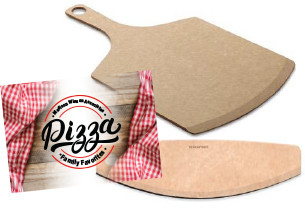 Pizza peel + pizza slicer