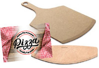 Pizza peel + pizza slicer
