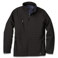 Eco-insulated quilted jacket - mens