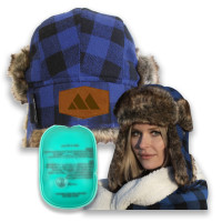 Trapper Hat Customized - Reusable hand warmers