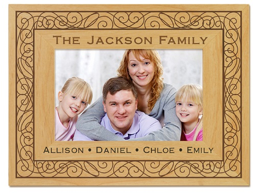 Personalized Family Photo Frame