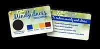Custom Stress Card with Stress Crystal Custom