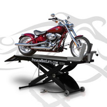Motorcycle Lift 1,500lbs. capacity with Extension Kit