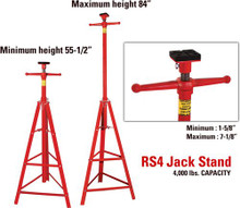 Rotary RS4 JACK STAND - $120