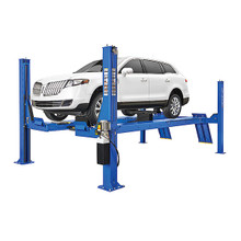 Rotary ARO14 Open Front Alignment Rack 4 Post Lift