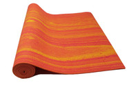 Boho Yoga Mat Aztec Orange 4.5mm