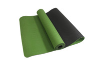 Alma Eco-TPE Yoga Mat 2 Tone Green 6mm