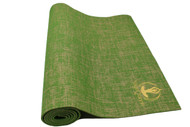 Splendid Natural Jute Yoga Mat Green 5mm