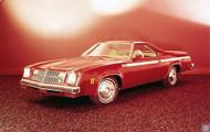 1976 Chevrolet El Camino Poster