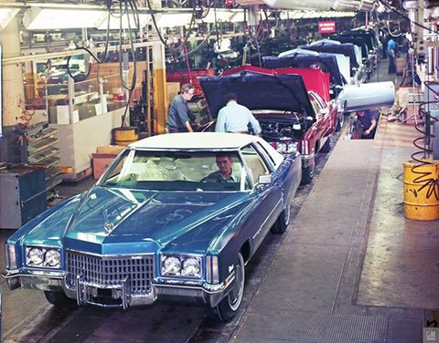 1972 Cadillac Eldorado Poster - GMPhotoStore