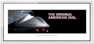 Corvette Framed Print - The original American idol.