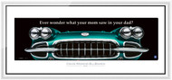 Corvette Framed Print - Ever wonder what...