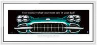 Corvette Framed Print - Ever wonder what...