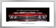 Chevelle Framed Print - As a matter of fact I do...